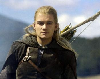 Legolas, from the Lord of the Rings