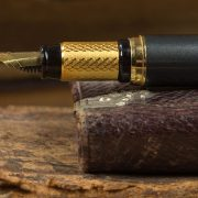 An Old book, and a Fountain Pen